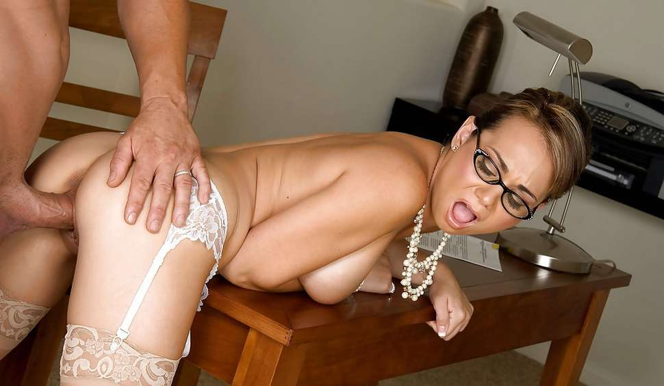 busty kimber james pink play at shemale models tube #glasses #geek #ondesk #doggystyle #stockings